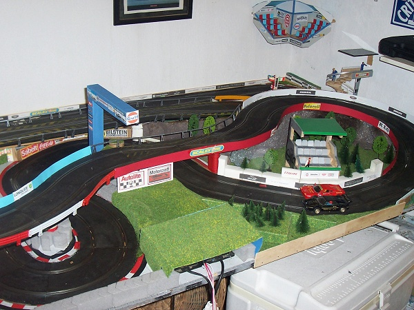 Circuit Scalextric Adrien Charriere