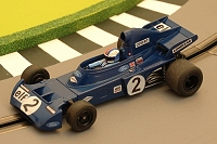 Albi Slot GP - Customisation de la Scalextric Elf Tyrrell 005 Francois Cevert