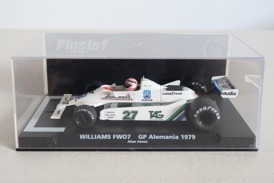 Fly F01104 - Williams FW07 GP Allemagne 1979 Alan Jones