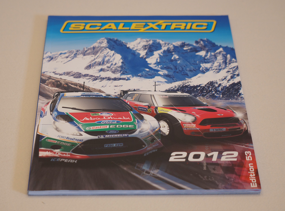 Catalogie Scalextric 2012