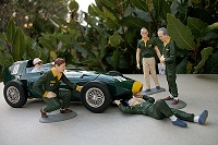 Lotus 67, Eagle 67, Ferrari 68: figurines MRRC