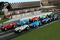 Cartrix : 9 F1 Grand Prix Legends