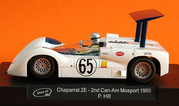 Albi Slot GP - Slot.it : Chaparral 2E - 2nd Can-Am Mosport 1966 (P. Hill)