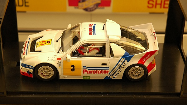 Albi Slot GP - MSC Ford RS200 : Purolator #3 Carlos Sainz - Ref 6002